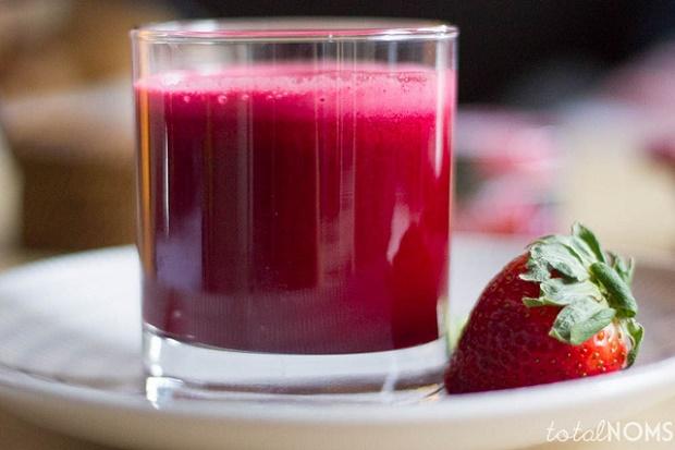 succo rosso San Valentino